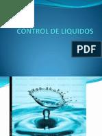 Control de Liquidos