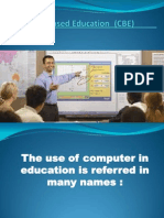 e  computer based education  file presentation