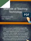 g  methods of teaching technology