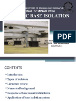 Seismic Base Isolation