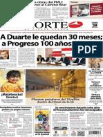 Periódico Norte de Ciudad Juárez edición impresa del 28 marzo del 2014