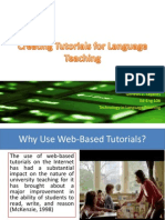 m  creating tutorials for language teaching