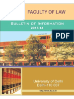 Delhi University Law Prospectus-1