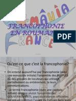 Francophonie en Roumanie - Ene Maria