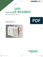 Vacuum Breaker 15kv