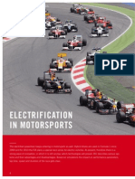 Electrification in Motorsport