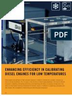 Enhancing Efficiency in Calibrating Diesel Engines for Low Temperatures