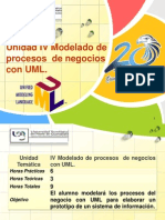 IV. Modelado de Procesos de Negocios Con UML Parte I