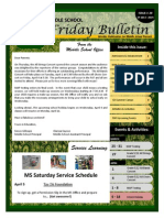 Parent Bulletin Issue 29 SY1314