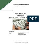 Pengenalan Kepada Microsoft Frontpages