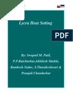 Lycra Heat Setting