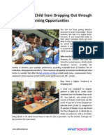 Protect Your Child From Dropping Out Through Expanded Learning Opportunities