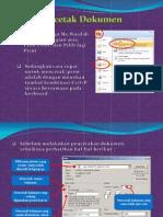 Cetak Dokumen Dengan Printer