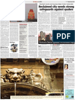 TOI 21May2007 - Reclaimed City Requires Strong Safeguards