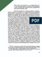 Libro de Los Exemplos Por a. B. C.