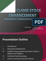 1 Giant Clams Stock Enhancement Presentation_San Felipe