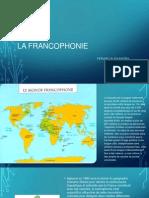La Francophonie - Feraru Alexandra