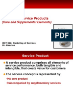 Services Marketing MKT 346 Chap 4 Concepts