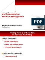 Services Marketing MKT 346 Chap 6 Concepts