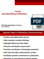 Services Marketing MKT 346 Chap 7 Concepts