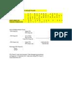 Contoh Pengisian SPT Tahunan PPh Badan 1771 Tahun 2011 Final CV