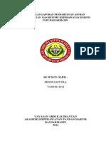 Kumpulan Laporan Pendahuluan Asuhan Keperawatan Dan Resume Keperawatan Di Rsud Ulin Banjarmasin