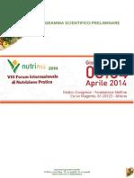 NutriMI 2014_Programma Preliminare
