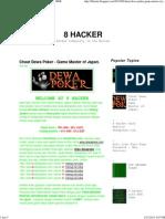 Cheat Dewa Poker - Game Master of Japan. _ 8 HACKER
