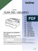 Manual Impresora Brother