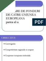 Alocare de Fonduri de Catre Uniunea Europeana