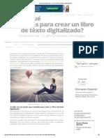 ¿Qué necesitas para crear un libro de texto digitalizado_