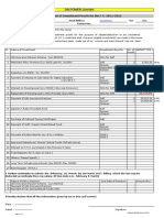 Covering Sheet for Investment Proof 2011-12