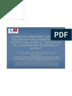 10.03 Josý Luis Jimýnez y otros. CSM Arganzuela... Coordinacion CSM y Servicios de Educacion