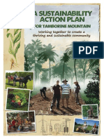 Sustainability Action Plan. Working together to create a sustainable community