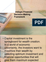 Strategic Financial Decision-Making Framework