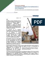 EL MUNDO - 10.10.07 - La Ley de Memoria Histórica obligará a las instituciones a retirar los símbolos franquistas