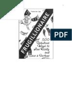 Frugillionaire_ 500 Fabulous Wa - Jay, Francine