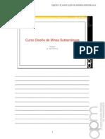 0000 Diseño y Planificación de Mineria Subterránea