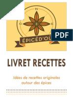 Livret Recette EpicéD'où Web