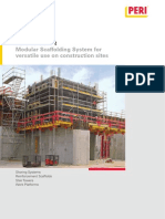 PERI UP Rosett for the Use on the Constr Jobsite Brochure Hq En