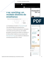 Flip Teaching_ un modelo distinto de enseñanza -
