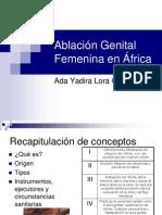 Ablación Genital Femenina en África