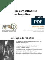 Robtica Com Software e Hardware Livres