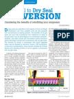 Dry gas versus wet gas compressor seals
