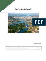 Living in Belgrade, January 2013 (PTSA)