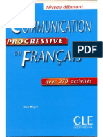 Vocabulaire progressif du francais communication progressive debutant livre fandeluxe Image collections