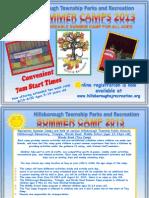 Summer Camp 2013 Brochure