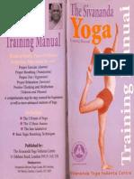 The Sivananda Yoga_training Manual