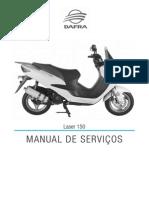 Manual Servicos Dafra Laser 150