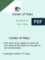 Center of Mass Powerpoint